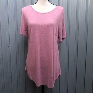 Old navy Luxe short sleeve pink top